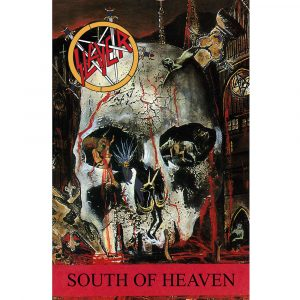 Slayer Textile Flag: South of Heaven