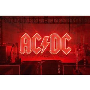AC/DC Textile Flag: PWR-UP