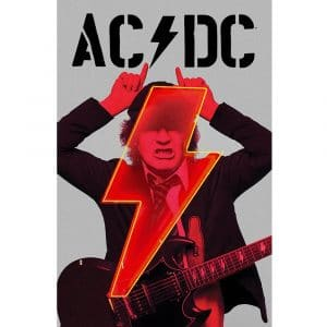 AC/DC Textile Flag: PWR-UP Angus