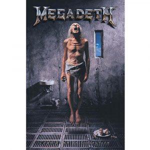 Megadeth Textile Flag: Countdown to Extinction
