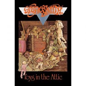 Aerosmith Textile Flag: Toys In The Attic