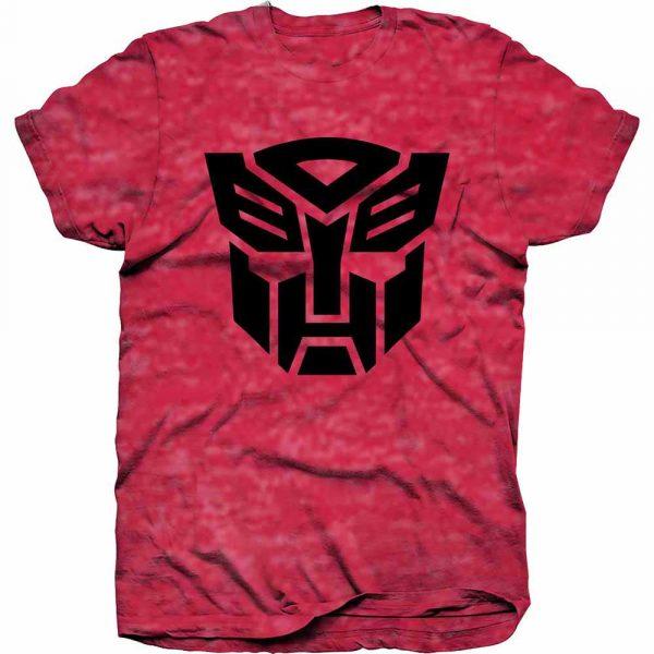 Hasbro Mens T-Shirt: Transformers Autobot Shield Black