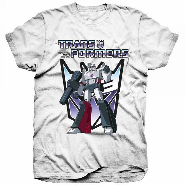 Hasbro Mens T-Shirt: Transformers Megatron