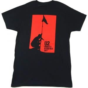 U2 Mens T-Shirt: Blood Red Sky (XX-Large)