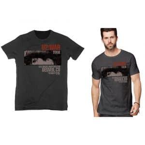 U2 Mens T-Shirt: War Red Rocks (XX-Large)
