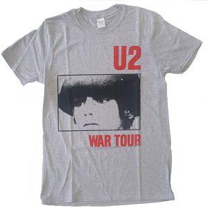 U2 Mens T-Shirt: War Tour (XX-Large)