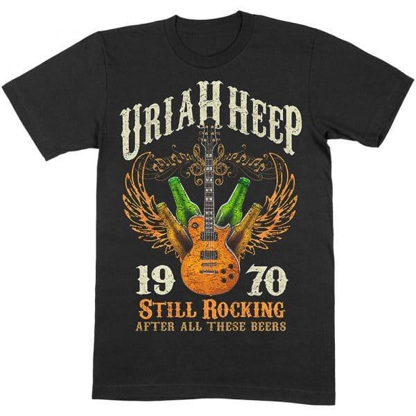 Uriah Heep Mens T-Shirt: Still Rocking (XX-Large)