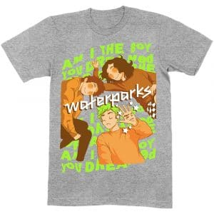 Waterparks Mens T-Shirt: Dreamboy (XX-Large)
