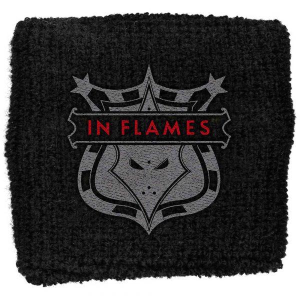 In Flames Sweatband: Shield