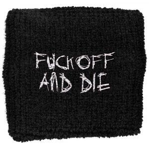 Darkthrone Sweatband: Fuck Off And Die