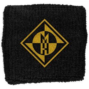 Machine Head Sweatband: Diamond Logo