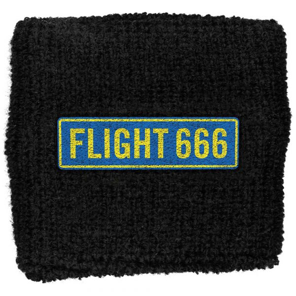 Iron Maiden Sweatband: Flight 666 (Retail Pack)