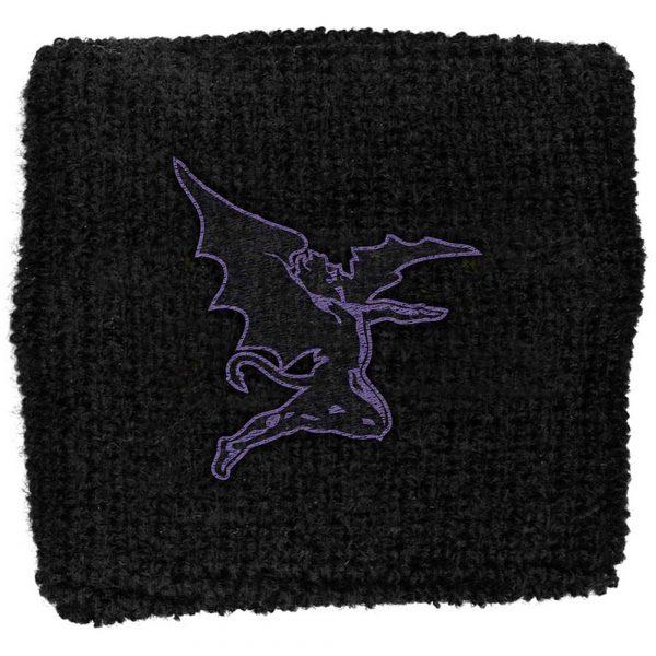 Black Sabbath Sweatband: Purple Devil (Retail Pack)