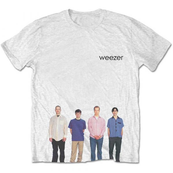 Weezer Mens T-Shirt: Blue Album (Retail Pack) (XX-Large)