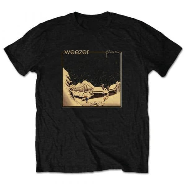 Weezer Mens T-Shirt: Pinkerton (Retail Pack) (XX-Large)