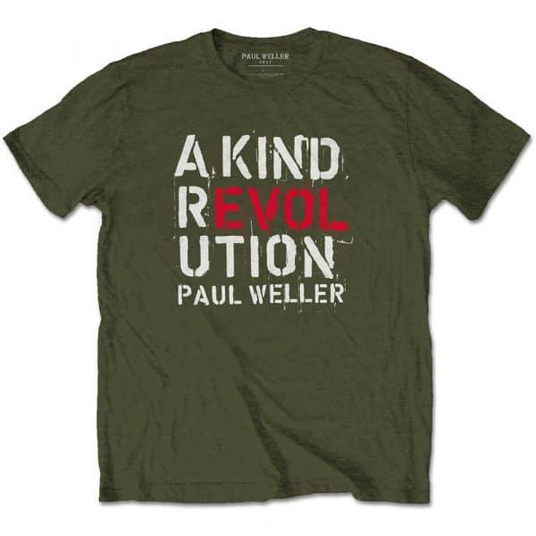 Paul Weller Mens T-Shirt: A Kind Revolution (XX-Large)
