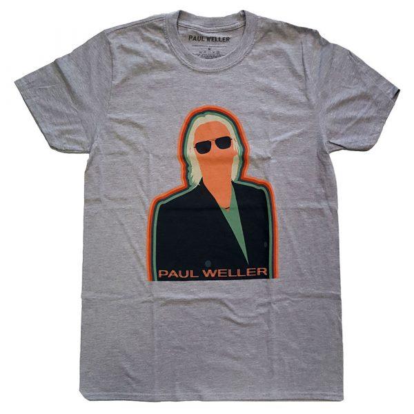 Paul Weller Mens T-Shirt: Illustration Key Lines (XX-Large)