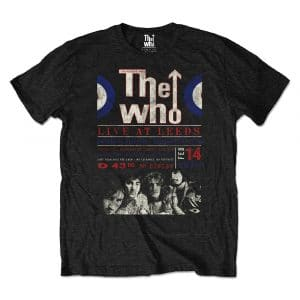 The Who Mens Eco-T-Shirt: Live At Leeds '70 (XX-Large)