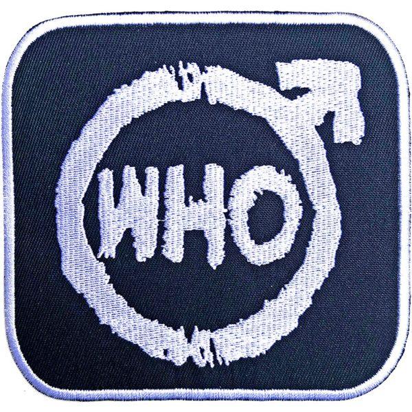 The Who Standard Patch: Spray Logo