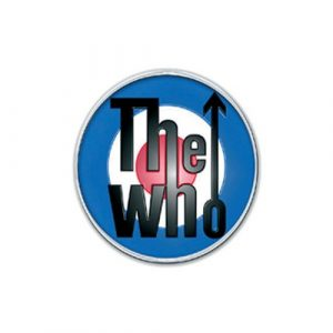 The Who Pin Badge: Target