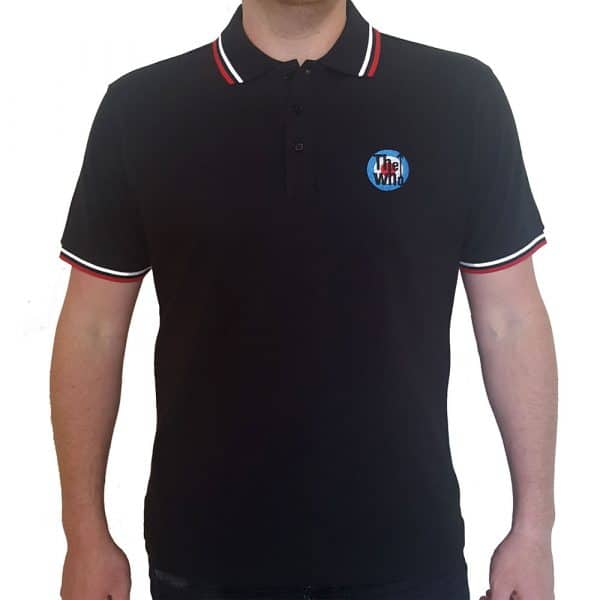 The Who Mens Polo Shirt: Target (XX-Large)