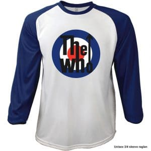 The Who Mens Raglan T-Shirt: 1969 Pinball Wizard (XX-Large)