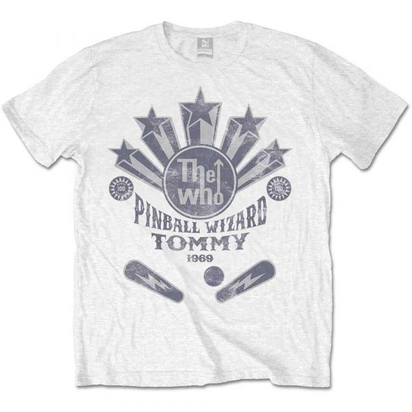 The Who Mens T-Shirt: Pinball Wizard Flippers (Retail Pack) (XX-Large)