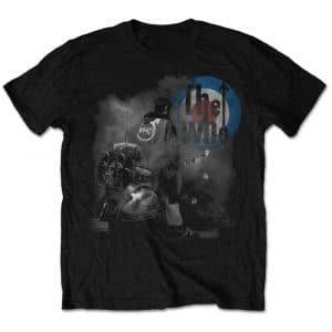 The Who Mens T-Shirt: Quadrophenia (Retail Pack) (X-Large)
