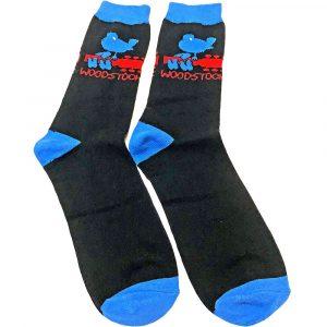 Woodstock Unisex Ankle Socks: Logo (UK Size 7 - 11)