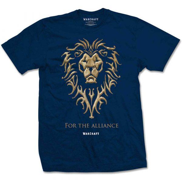 World of Warcraft Mens T-Shirt: The Alliance (XX-Large)