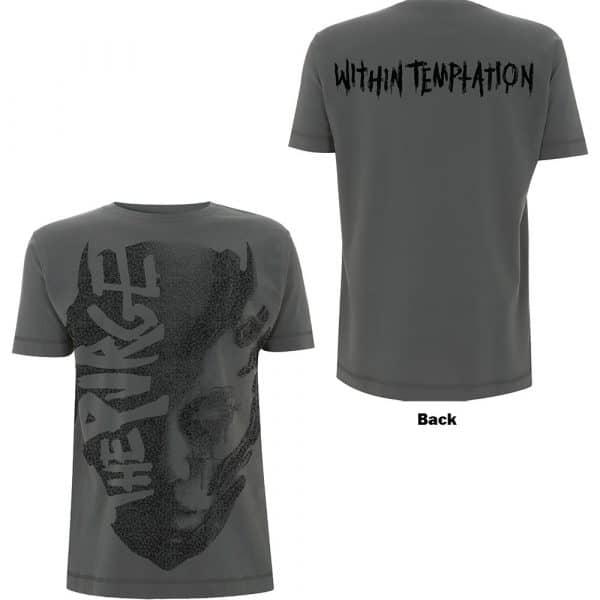 Within Temptation Mens T-Shirt: Purge Jumbo (Back Print) (XX-Large)