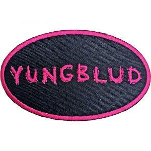 Yungblud Standard Patch: Oval Logo