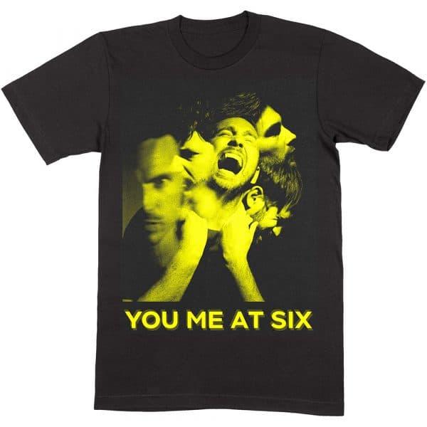 You Me At Six Mens T-Shirt: Suckapunch Photo (XX-Large)