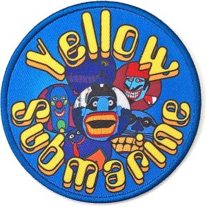 The Beatles Standard Patch: Yellow Submarine Baddies Circle