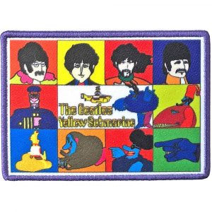 The Beatles Standard Patch: Yellow Submarine Characters