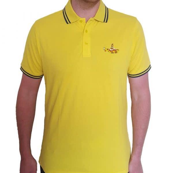 The Beatles Mens Polo Shirt: Yellow Submarine (XX-Large)