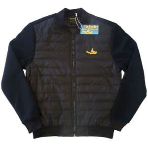 The Beatles Mens Quilted Jacket: Yellow Submarine (XX-Large)
