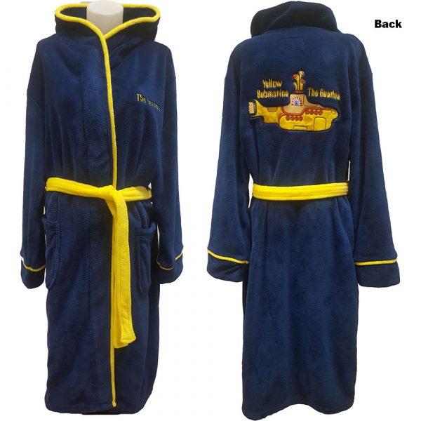 The Beatles Unisex Bathrobe: Yellow Submarine (Large - X-Large)