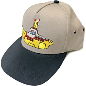 The Beatles Unisex Snapback Cap: Yellow Submarine