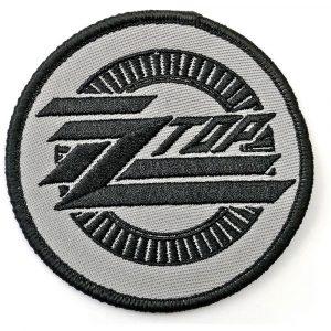 ZZ Top Standard Patch: Circle Logo