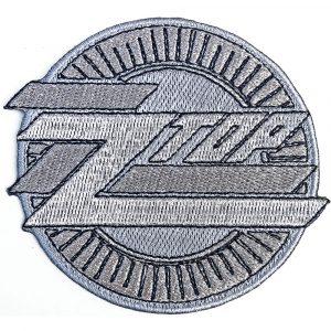 ZZ Top Standard Patch: Metallic Logo