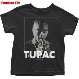 Tupac Kids T-Shirt (Toddler): Praying (5 Years)