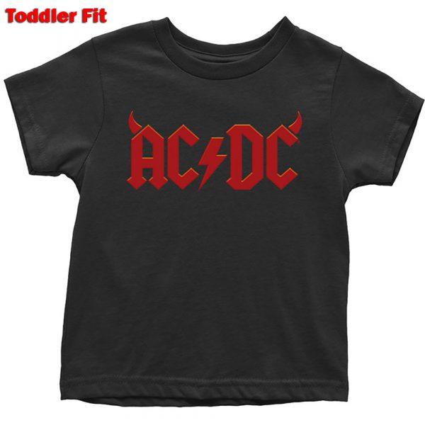 AC/DC Kids T-Shirt (Toddler): Horns (5 Years)