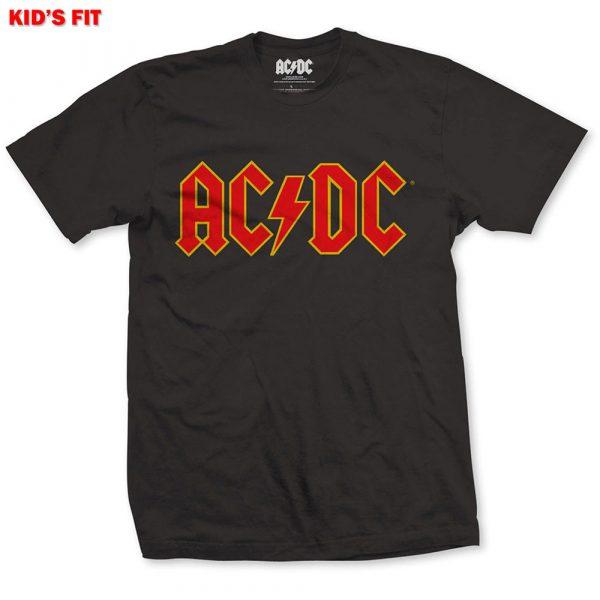 AC/DC Kids T-Shirt: Logo (Retail Pack) (11 - 12 Years)