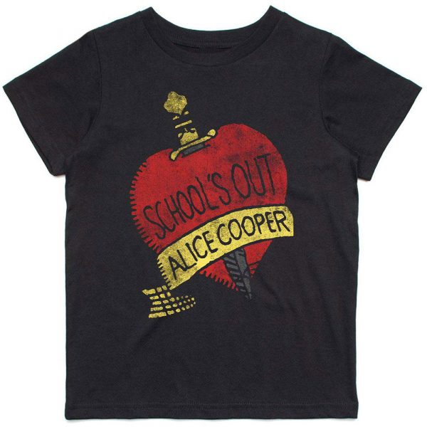 Alice Cooper Kids T-Shirt: Schools Out (12 - 13 Years)