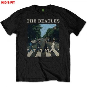 The Beatles Kids T-Shirt: Abbey Road & Logo (Retail Pack) (11 - 12 Years)