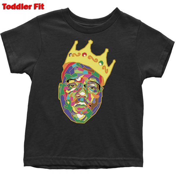 Biggie Smalls Kids T-Shirt (Toddler): Crown (5 Years)