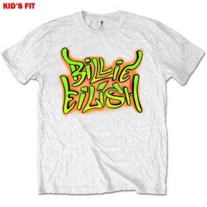 Billie Eilish Kids T-Shirt: Graffiti (13 - 14 Years)