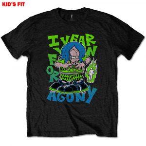 Billie Eilish Kids T-Shirt: Agony (9 - 10 Years)