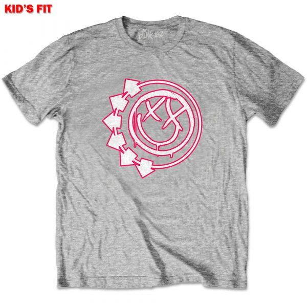 Blink-182 Kids T-Shirt: Six Arrow Smiley (13 - 14 Years)